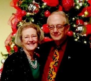 John and Jill Christmas 2014